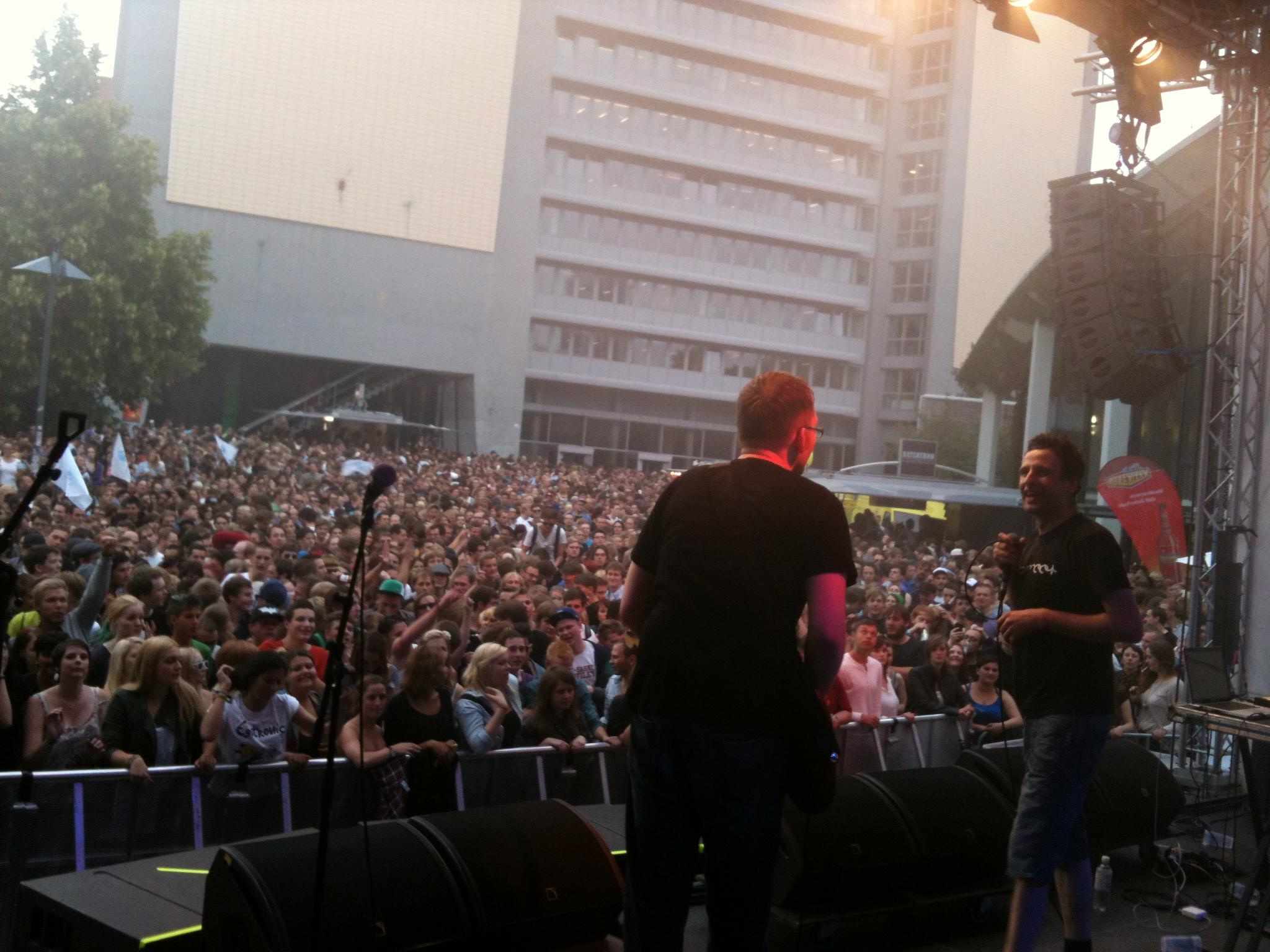 4.7. Gastauftritt bei Egotronic in Hamburg